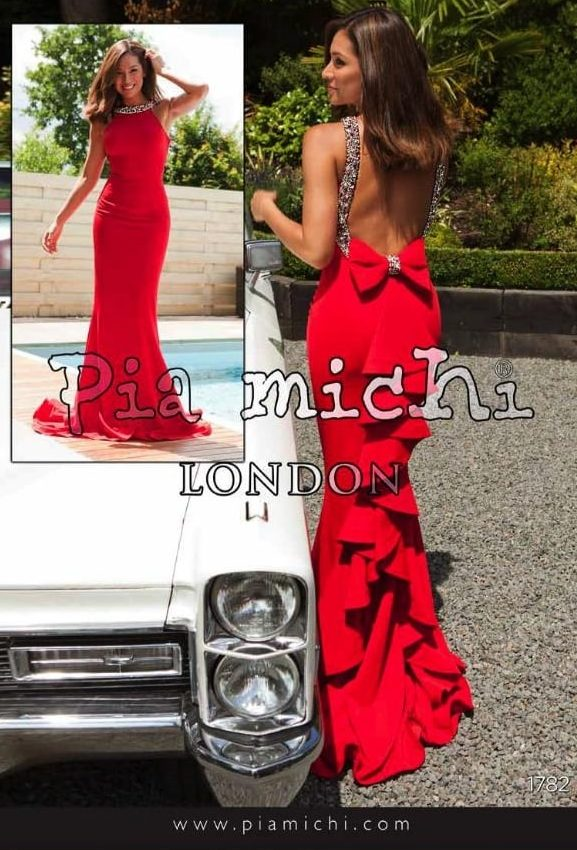 Pia Michi 1782 Prom Dress