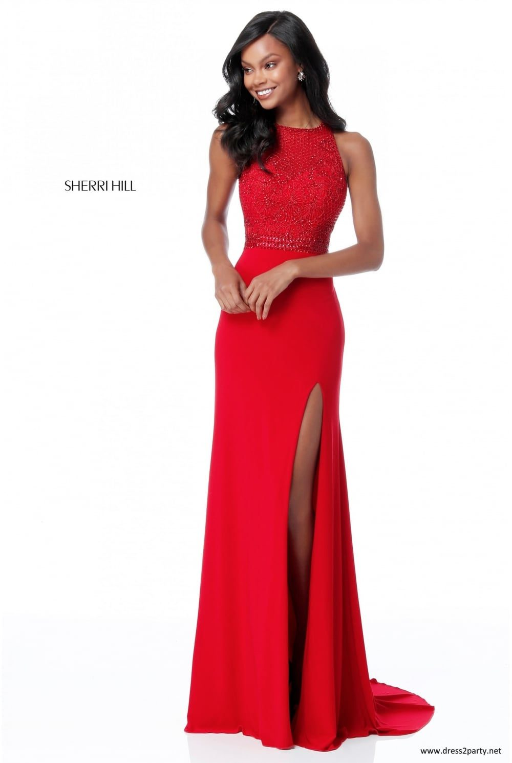 462a80f0533 Sherri Hill 51686 Prom Dress